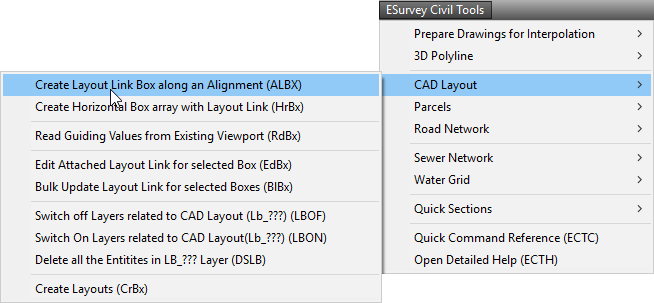 Create Layouts in CAD Quickly