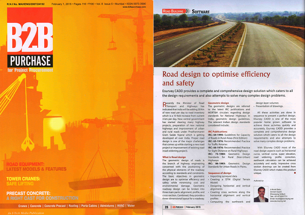 ROAD DESIGN TO OPTIMISE EFFICIENCY AND SAFETY